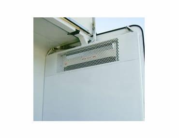 Instalación de refrigeración para furgones y camiones de transporte congelados